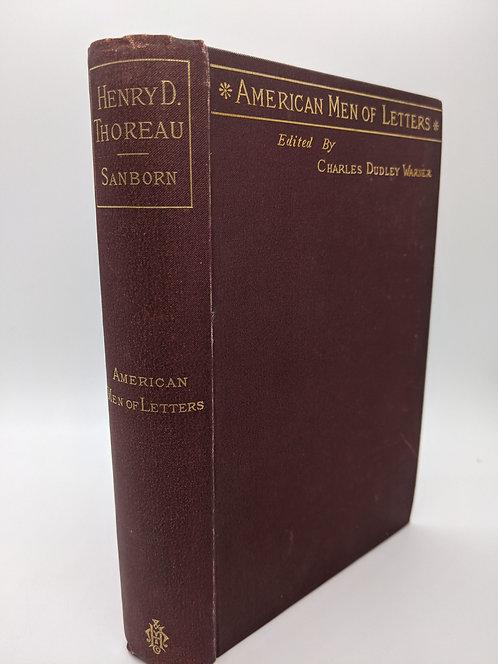 Henry David Thoreau (American Men of Letters Series)