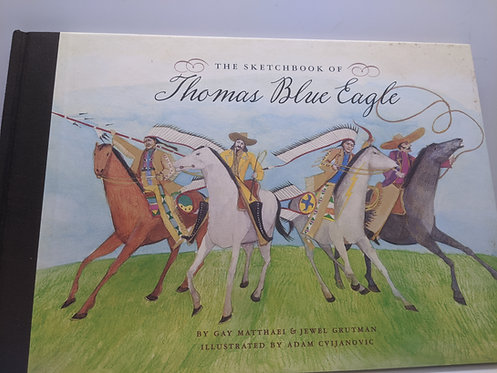 The Sketchbook of Thomas Blue Eagle