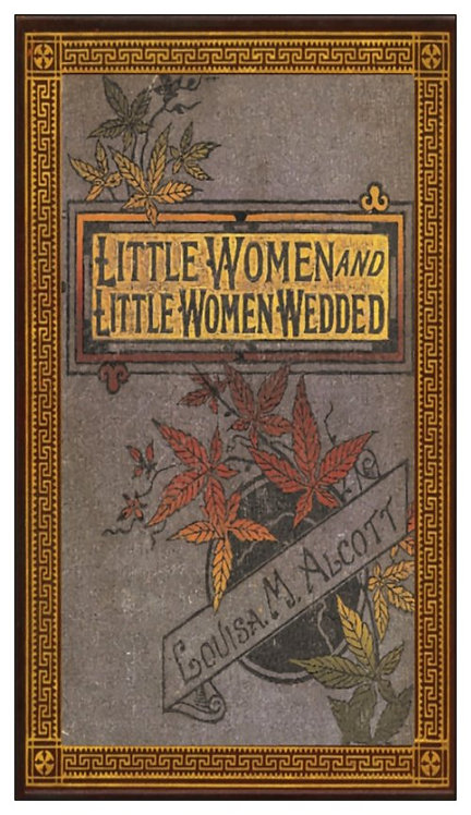 Magnet: LITTLE WOMEN pirated book cover