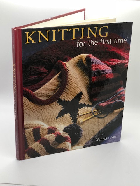 Knitting For The First Time, by Vanessa-Ann