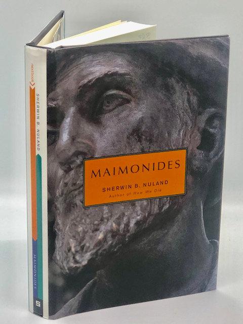 Maimonides, by Sherwin B. Nuland