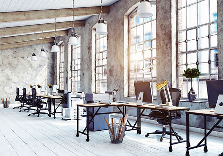 Inspirational workspace that entrepreneurs would love to work in.