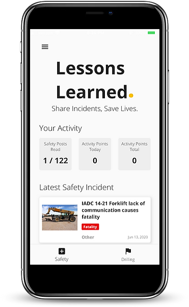 Lessons Learned App