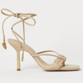 H&M Conscious exclusive spring 2020 collection: Sandals made from Vegea and water-based polyurethane