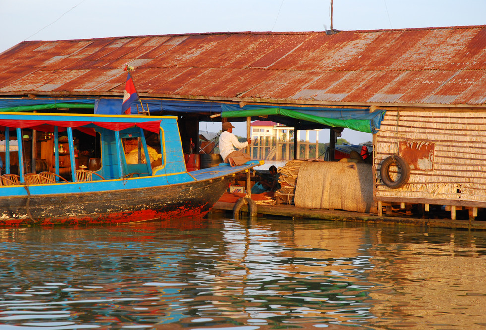 On the Tonle Sap