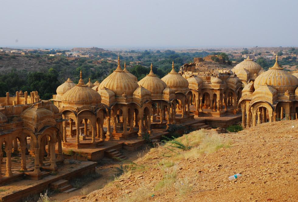 Golden templs of Jaisalmer