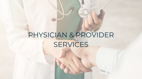 PHYSICIAN & PROVIDER SERVICES