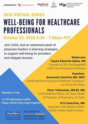 Well-Being For Healthcare Professionals.