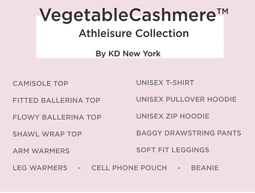 KD New York Vegetable Cashmere