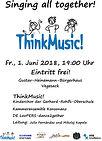 Singing all together  1. Juni 2018  ThinkMusic! Kinderchor der Gerhard-Rohlfs-Oberschule  Ltg: Julio Fernández/Mikolaj Kapala