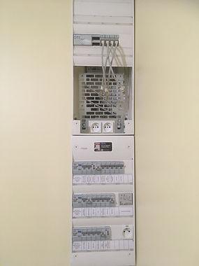 Tableau électrique neuf avec son coffret de communication par Sécu-Domo-Elec à Saumur