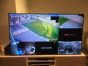 écran pour système de vidéo surveillance à Saumur (49400)