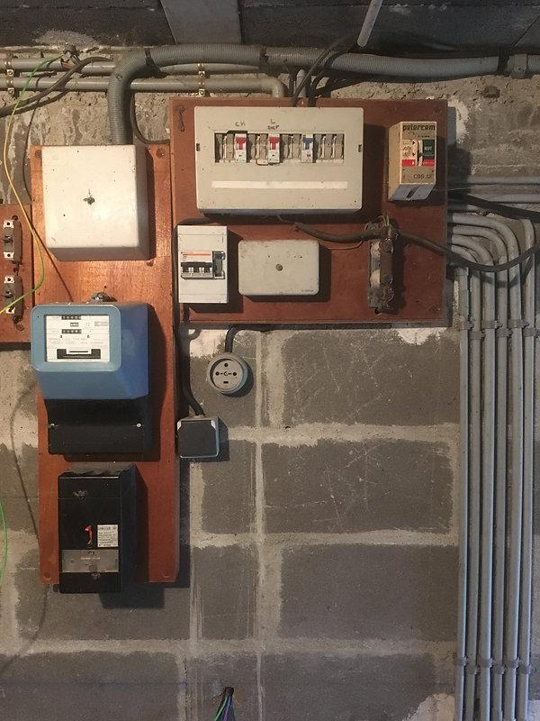 Ancien tableau électrique
