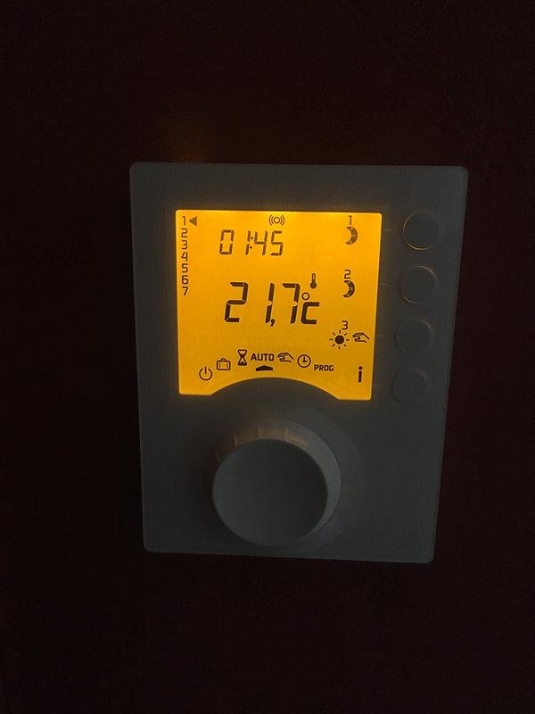 Ecran de gestionnaire d'énergie