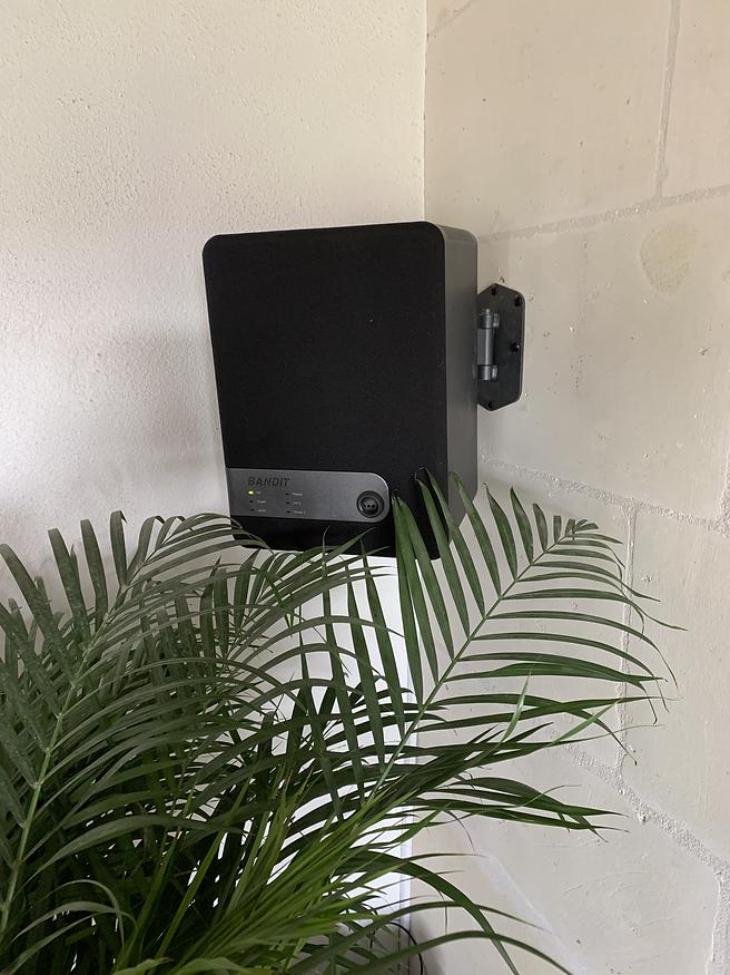 Instalaltion d'une Générateur de brouillard BANDIT par Sécu-Domo-Elec à Saumur