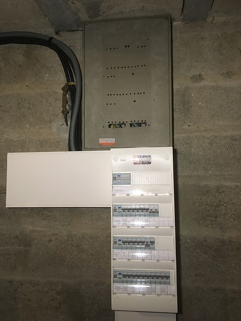 Tableau électrique rénové par Secu-Domo-Elec