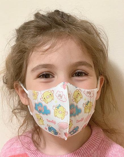 Kinderschutz Maske für 4-8 Jahre - 50 Stück