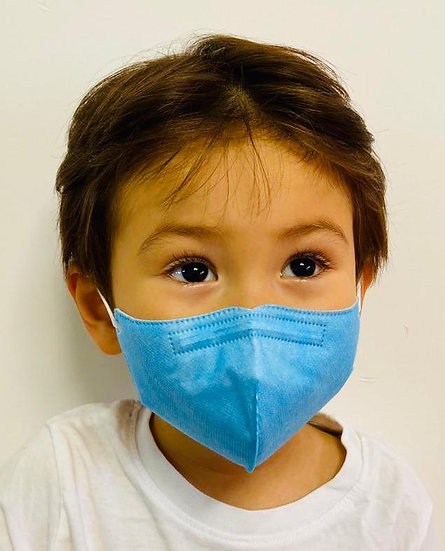 Medizinische Kinder Atemschutzmaske für 4-10 Jahre - 50 Stück