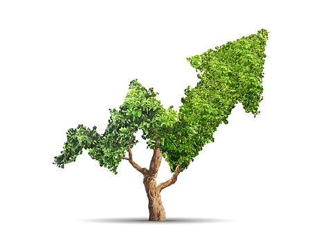 Ett företags ekonomi uppåt