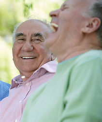 Older men laughing