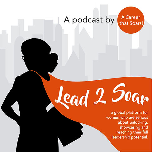 Lead to Soar Podcast Logo Mel Butcher and Michelle Redfern