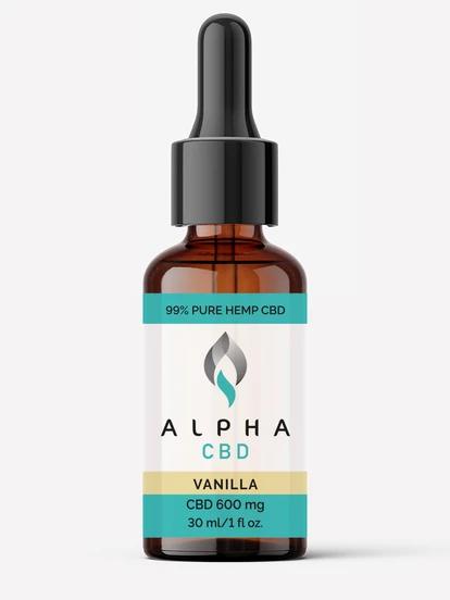 Alpha CBD - 30ml 600mg (Vanilla Ice Cream)