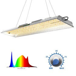 Mars Hydro TSL 2000 LED Grow Light for Indoor Plants Full Spectrum 300W 2ftx4ft
