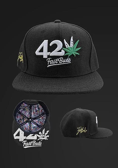 Black 420 Hat