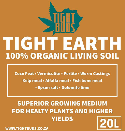 TIGHT EARTH ORGANIC LIVING SOIL