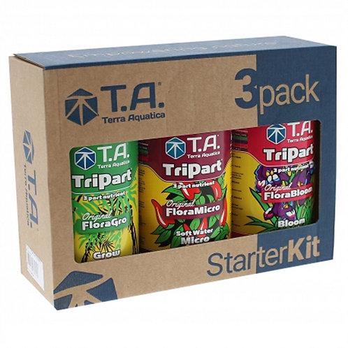 Terra Aquatica TriPart Starter Kit  - Soft Water