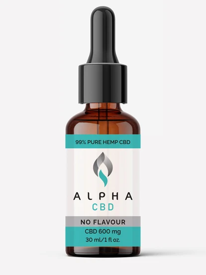 Alpha CBD - 30ml 600mg CBD (No Flavour)