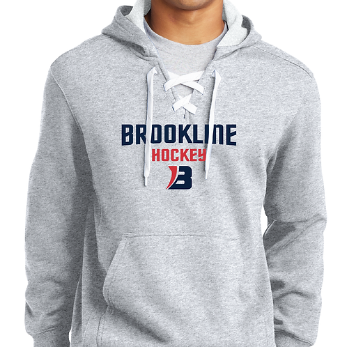 Sport-Tek® Lace Up Pullover Hooded Sweatshirt