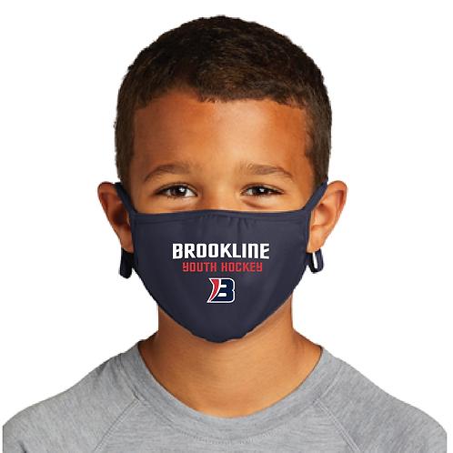 Sport-Tek® Youth PosiCharge® Face Mask (3 Pack)