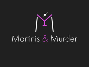 Martinis And Murder Logo