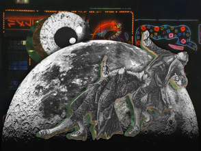 Moon Dance Collage