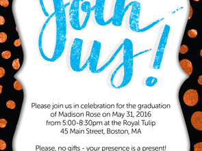 Custom Invitation IV