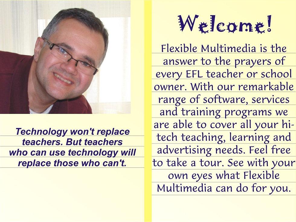 EFL teachers technology training multimedia instructional interactive CD ROM immediate feedback