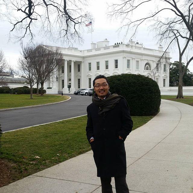 I am at #whitehouse