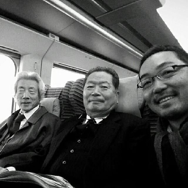 元首相と元官房長官と元ジャーナリスト #小泉純一郎 #中川秀直 #上杉隆