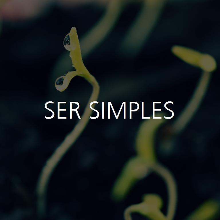 ser simples