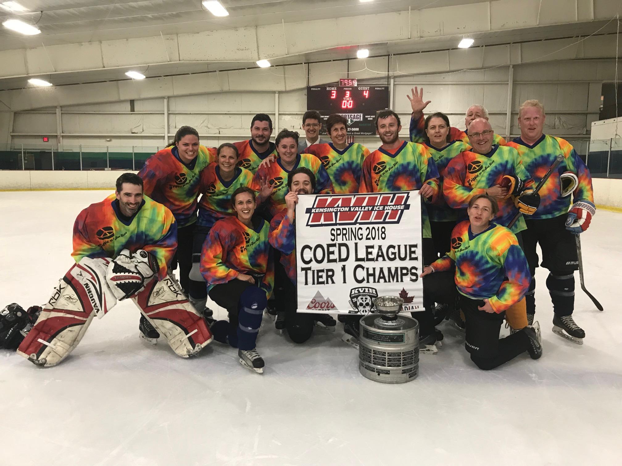 Coed 2018 league champs