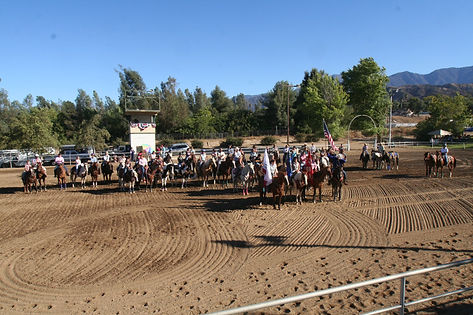 Equestrian events such as ranch sorting, horse shows, gymkhanas, clinics, and 4-H activities are held frequently through out the year.  See the event calendar for more information.