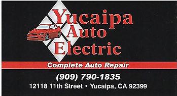 Yucaipa Auto Electric