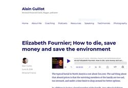 Elizabeth Fournier Green Burial