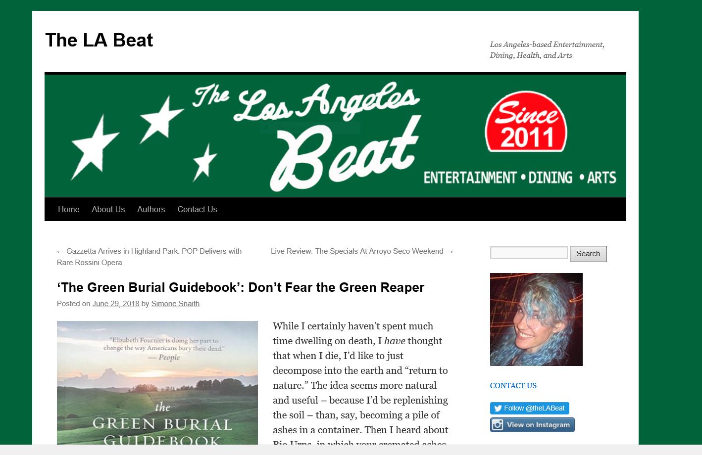LA Beat with Elizabeth Fournier