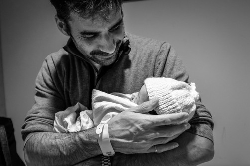 Birth photography, Belleville Hospital.