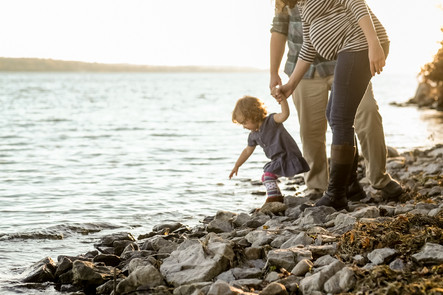 Family photos on the Bay of Quinte