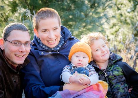 Family Christmas Photos Belleville Ontario