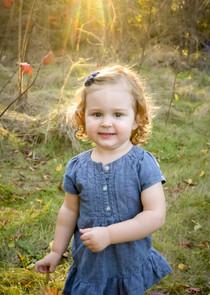 Child portrait at Quinte Conservation Area in Belleville