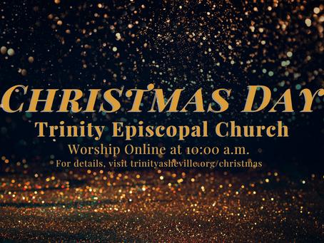 Christmas Morning Holy Eucharist (12/25 at 10 a.m.)